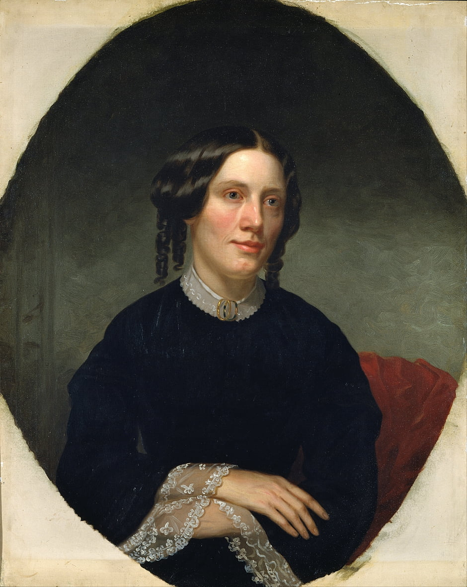 Harriet Beecher Stowe de Alanson Fisher