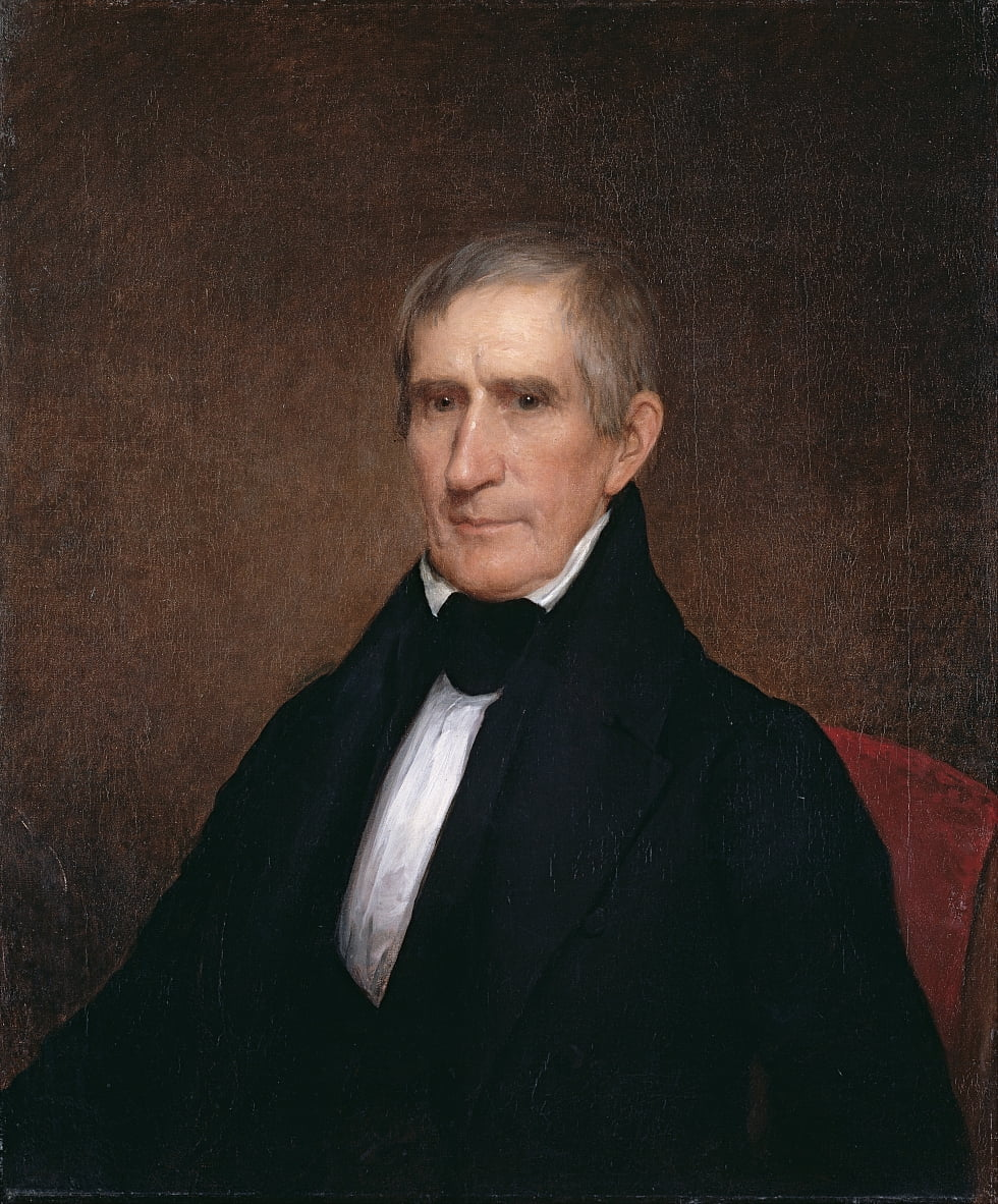 William Henry Harrison de Albert Gallatin Hoit