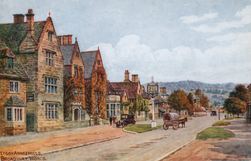 The Lygon Arms, Broadway, Worcestershire de Alfred Robert Quinton