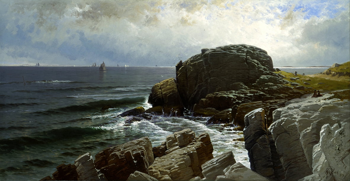 Castle Rock, Marblehead de Alfred Thompson Bricher