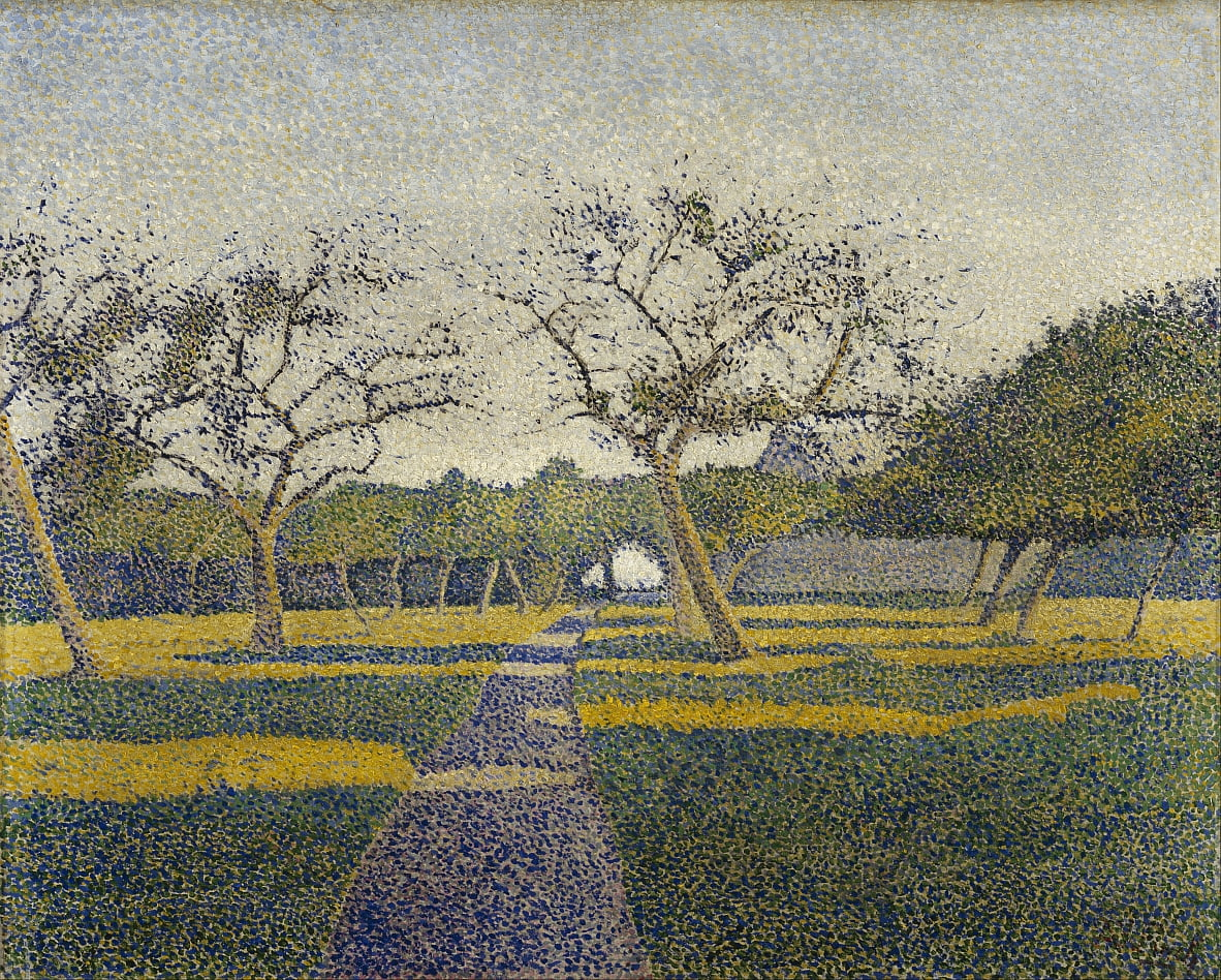 Orchard en La Louviere de Alfred William Finch