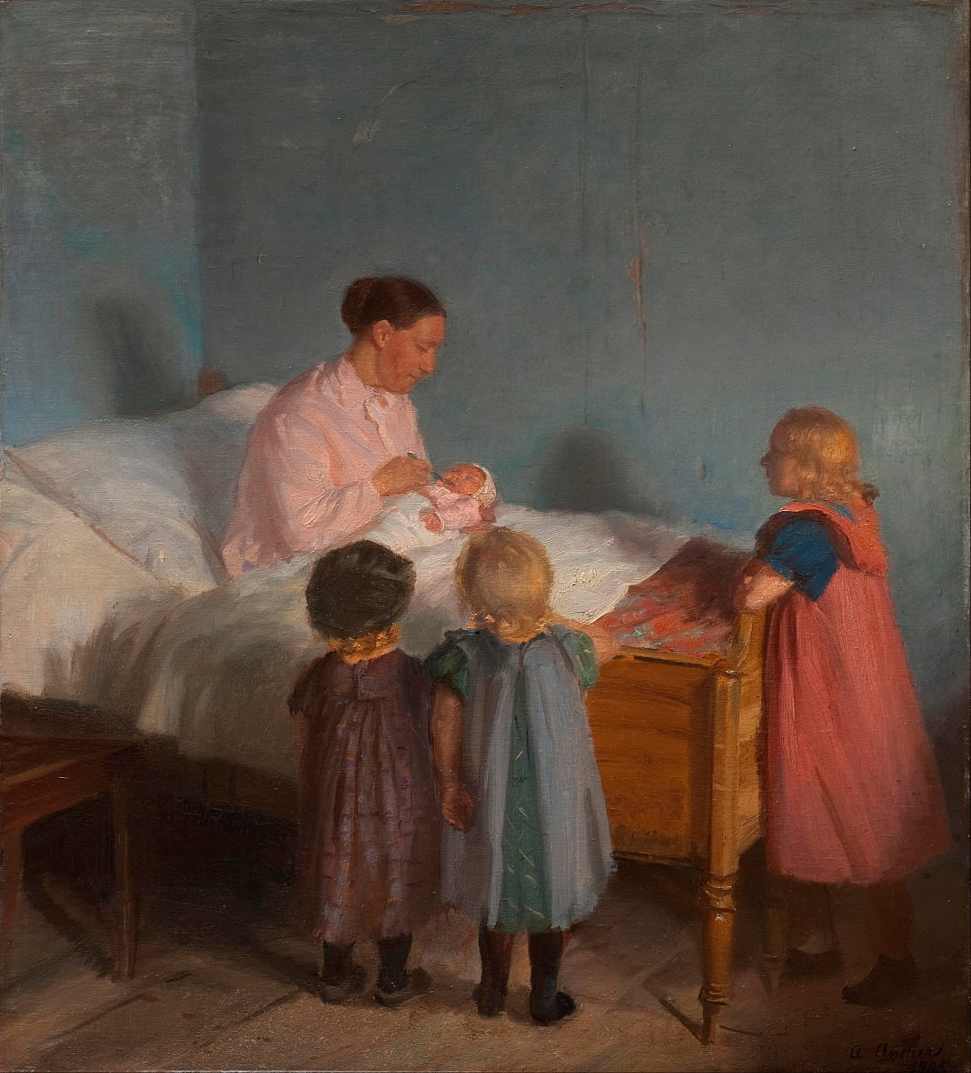 Hermanito de Anna Ancher