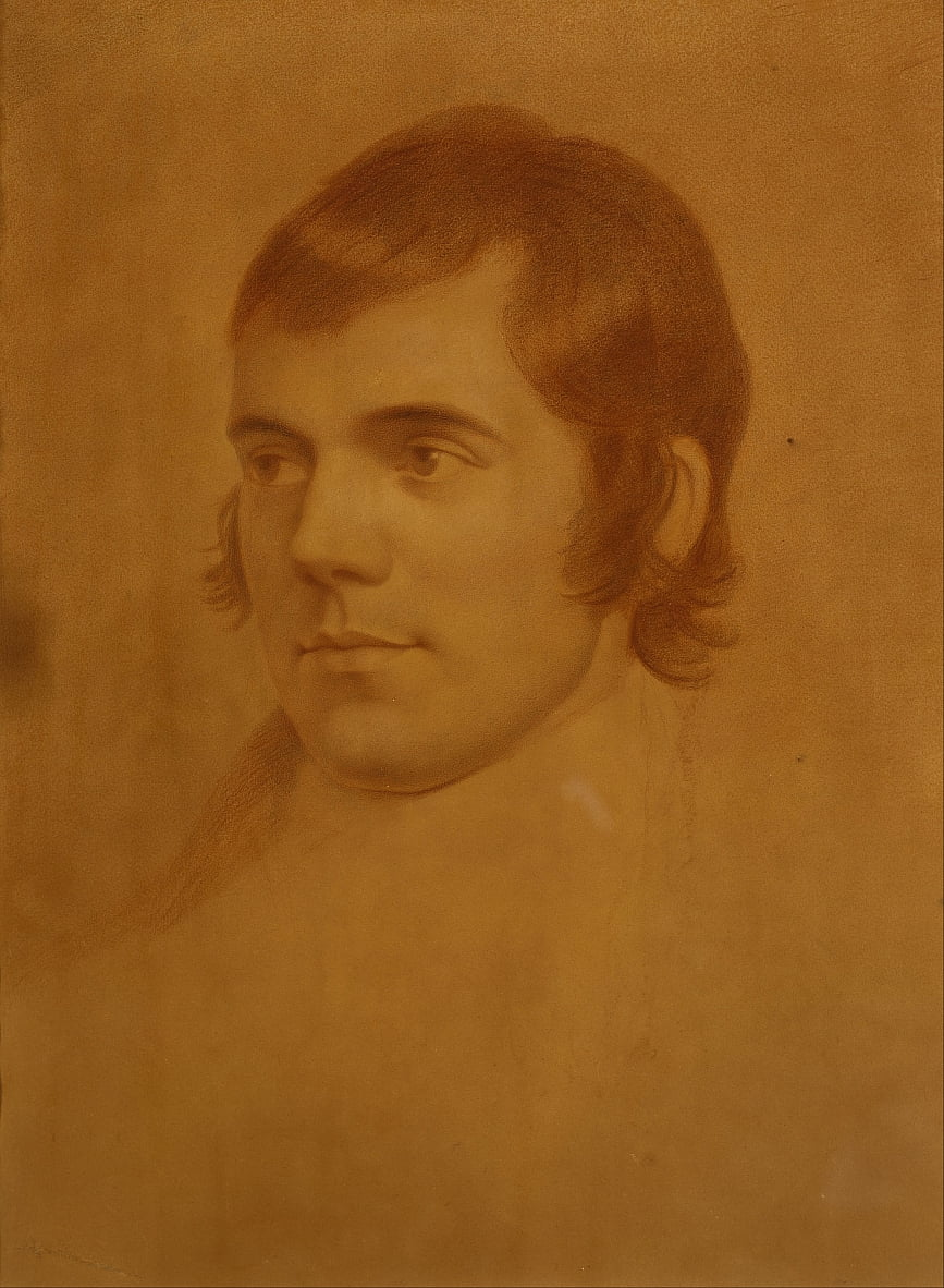 Robert Burns, 1759 de Archibald Skirving