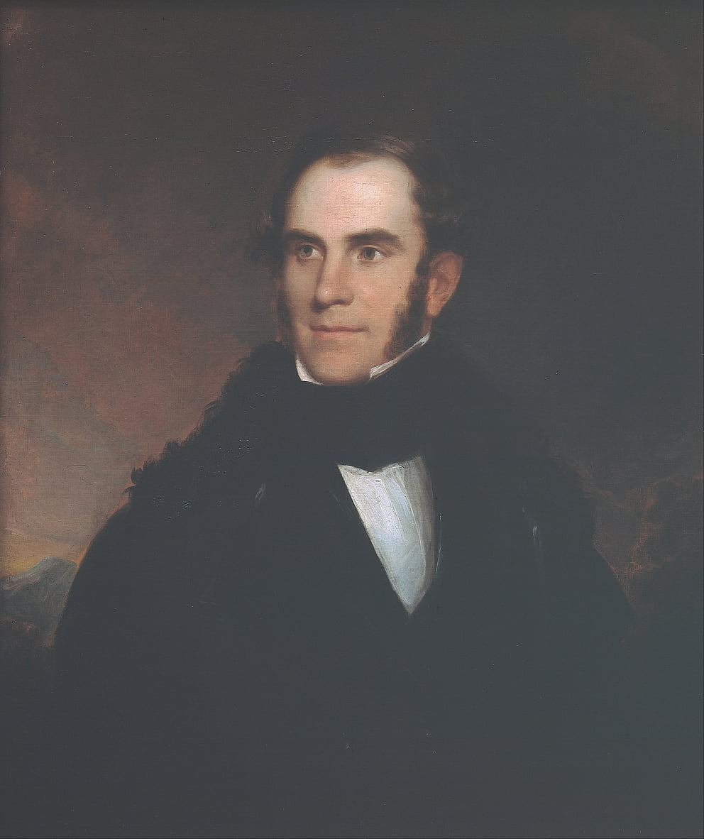 Retrato de Thomas Cole de Asher Brown Durand