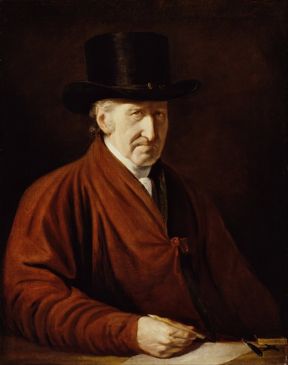 Auto retrato de Benjamin West