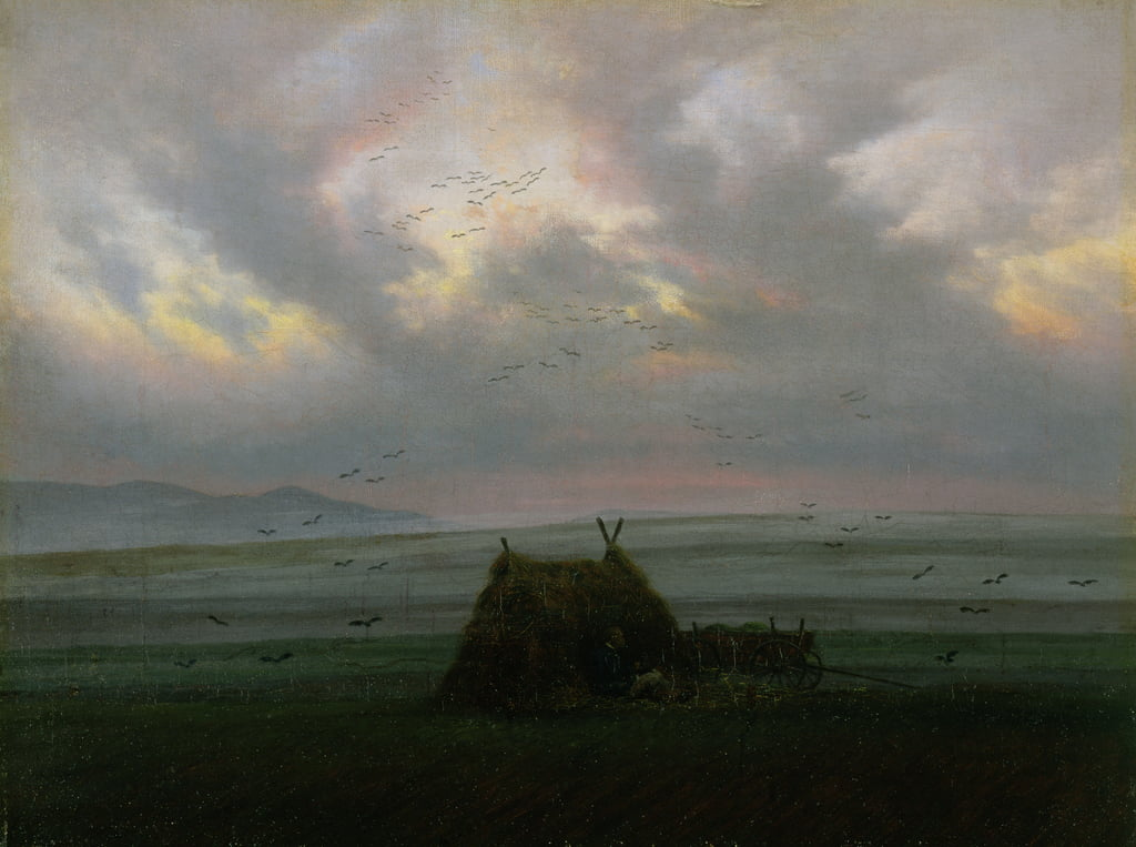 Waft of Mist, c. 1818-20 de Caspar David Friedrich