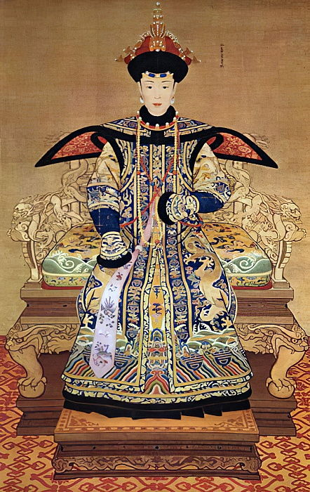 Retrato de la emperatriz china, 1600 de Chinese School