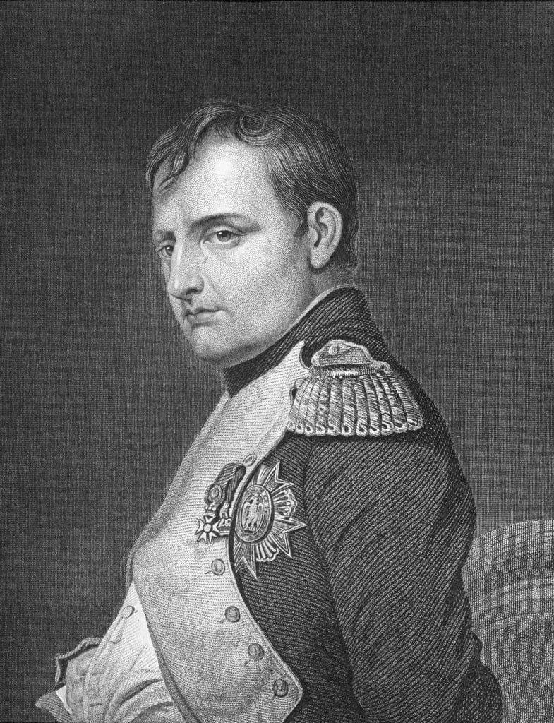 Retrato de Napoleón Bonaparte (1769-1821) de English School