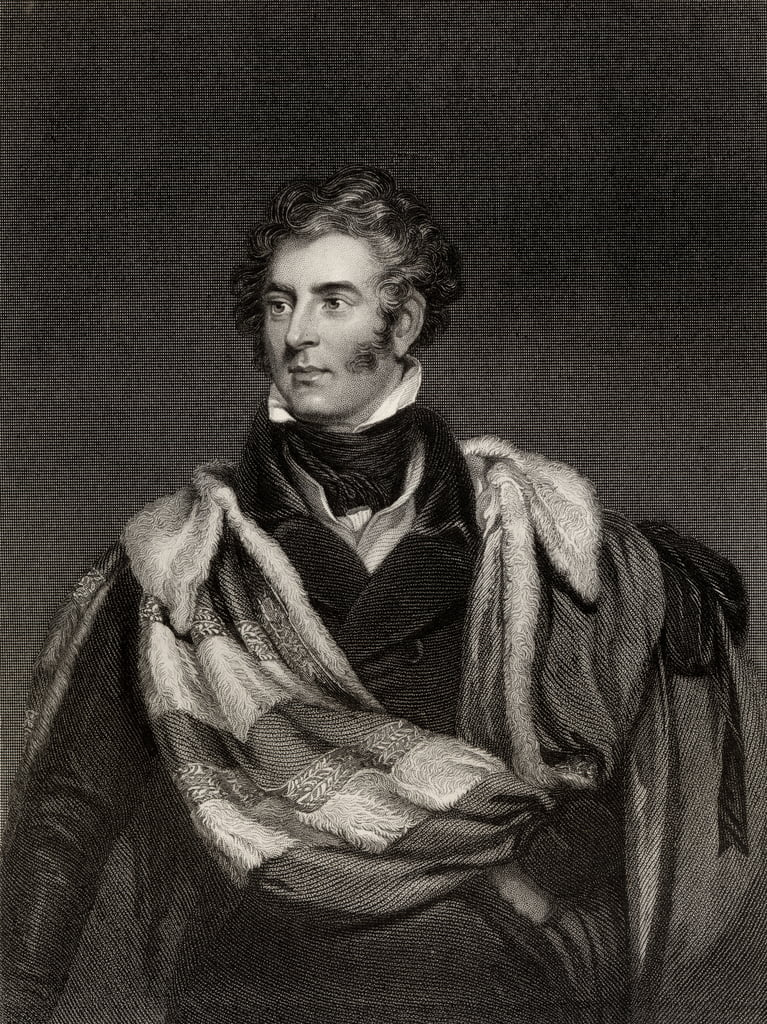 Thomas Philip Weddell Robinson (1781-1859) 3er Barón Grantham de English School