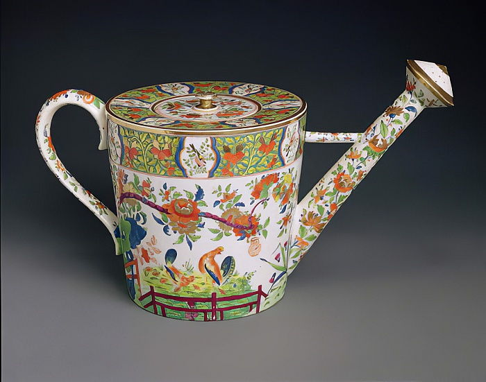 Regadera, c.1810-20 (porcelana) de English School