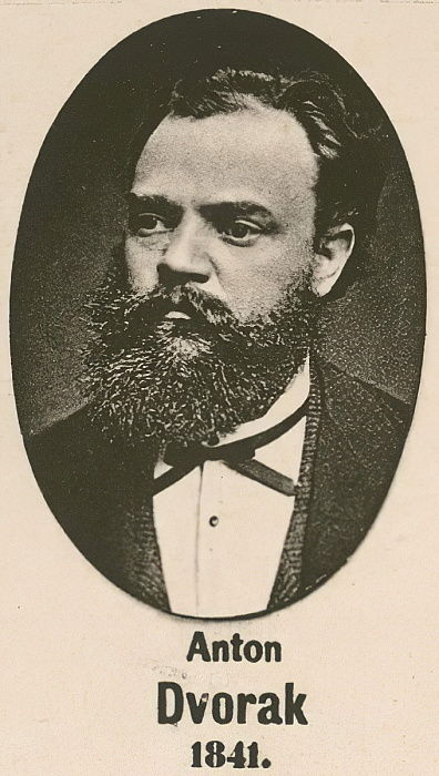 Anton Dvorak (huecograbado) de English School