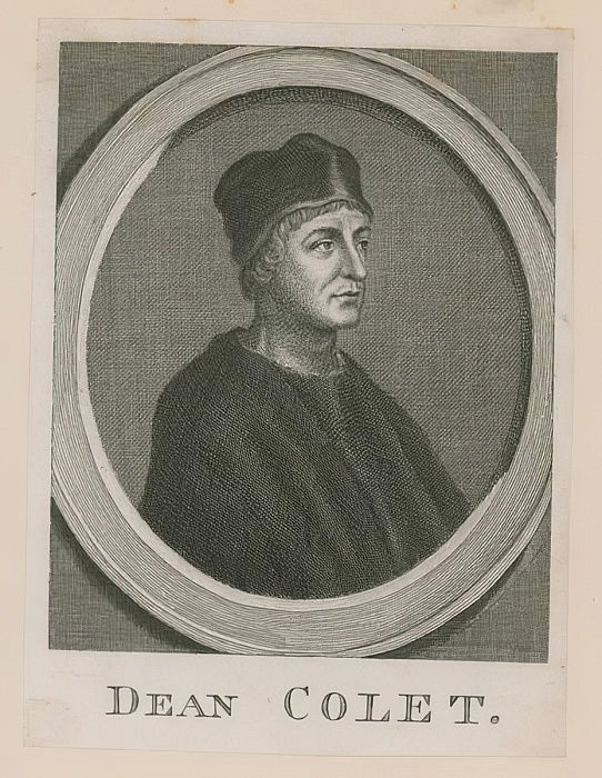 Retrato de John Colet de English School