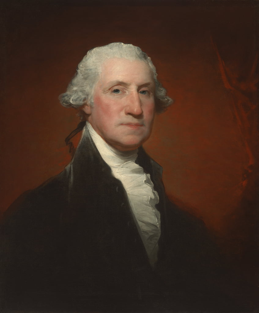 George Washington (retrato de Vaughan-Sinclair), 1795 de Gilbert Stuart