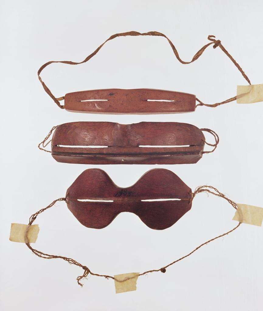 Gafas de hueso o madera