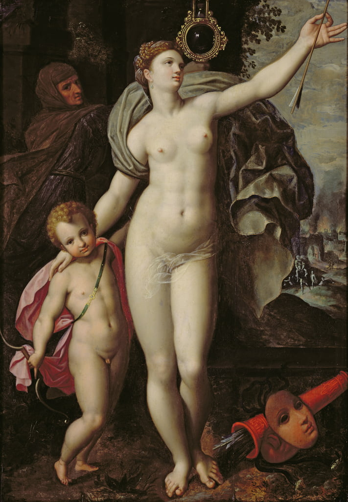 Venus y Cupido de Jacques de Backer