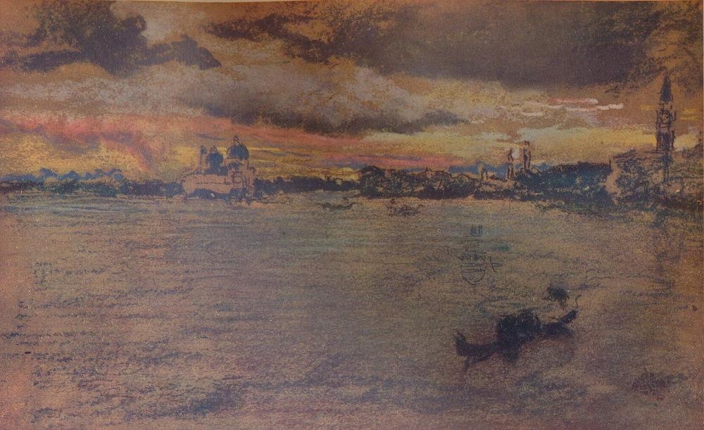 Ca s'est passé en juillet ! James_Abbott_McNeill_Whistler_-_The_Storm_Sunset_1880_1904_-_(MeisterDrucke-796565)