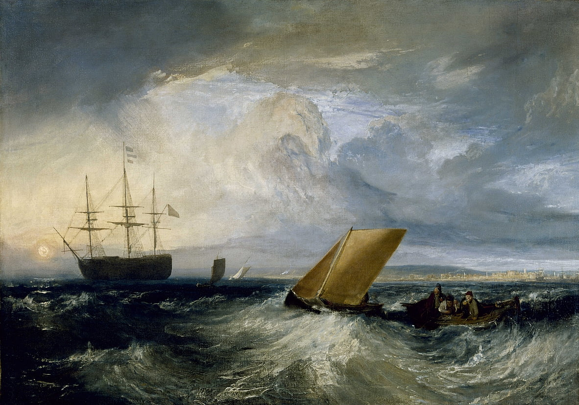 Sheerness como se ve desde el Nore de Joseph Mallord William Turner