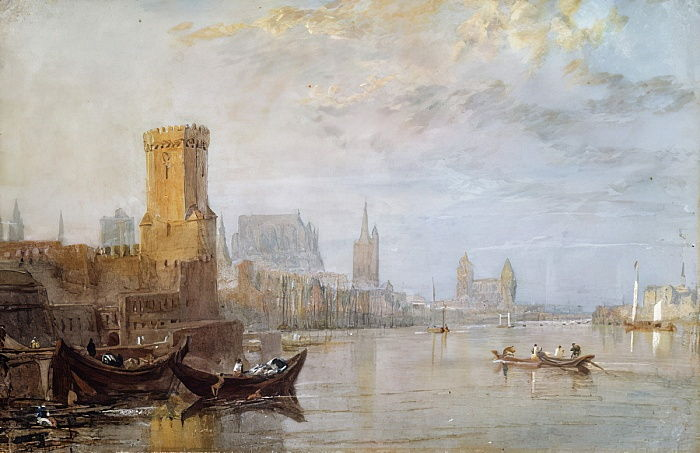 Colonia en el Rin de Joseph Mallord William Turner