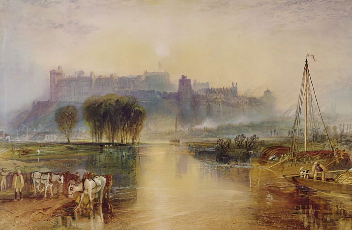 Castillo de Windsor, c.1829 de Joseph Mallord William Turner