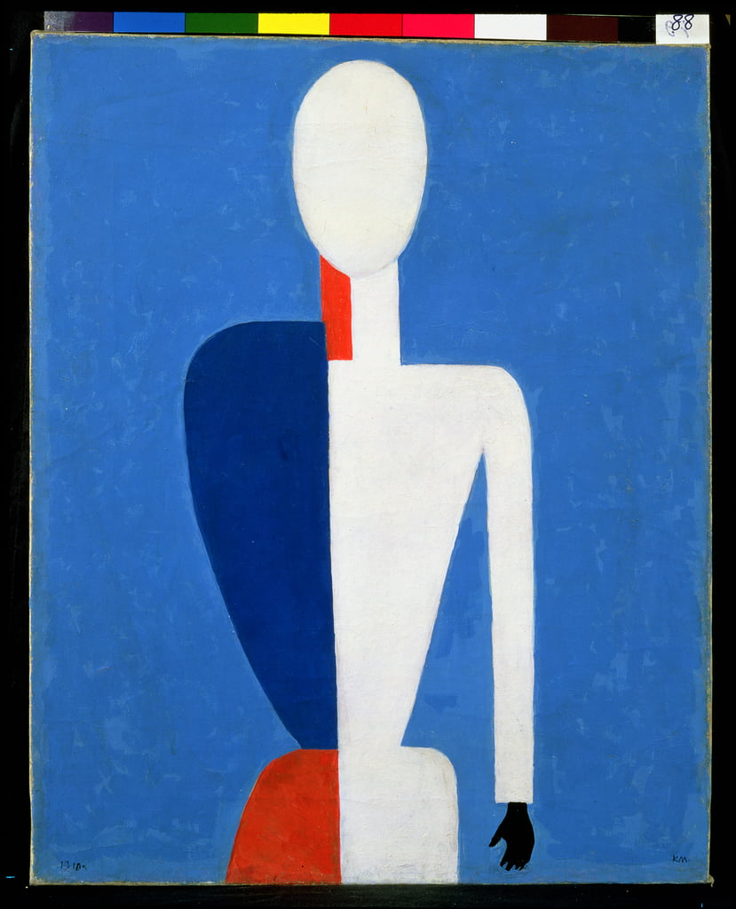Torso, Transformation to a New Shape, 1928-32 de Kazimir Severinovich Malevich