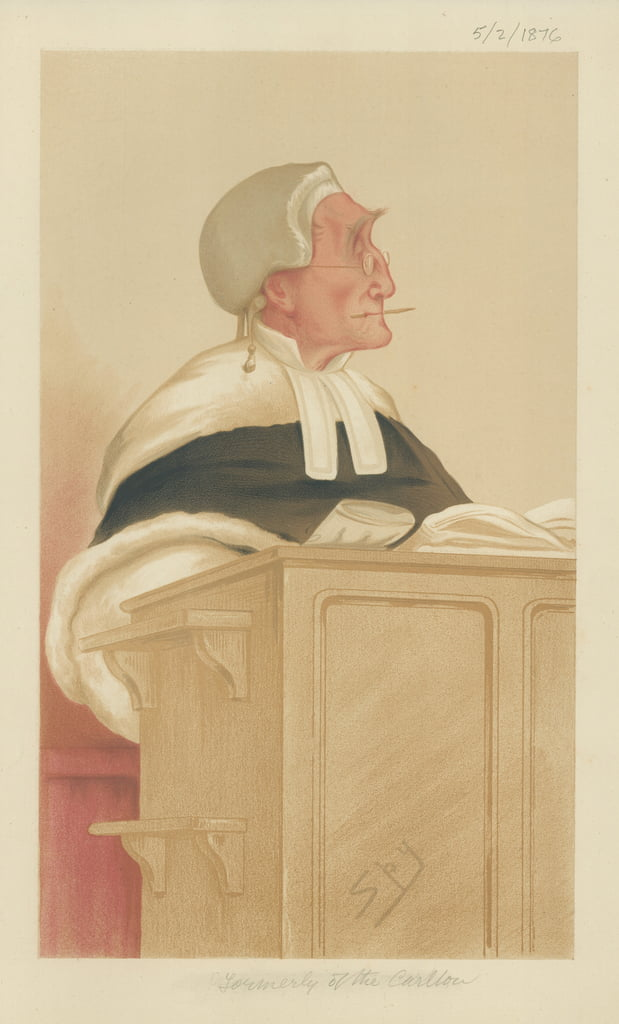 El Honorable Sir Anthony Cleasby de Leslie Matthew Ward