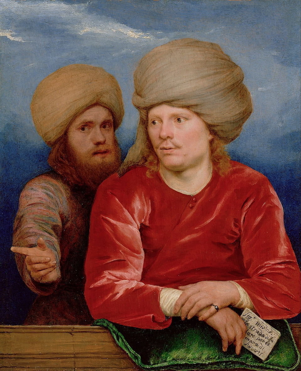 Retrato doble de Michael Sweerts