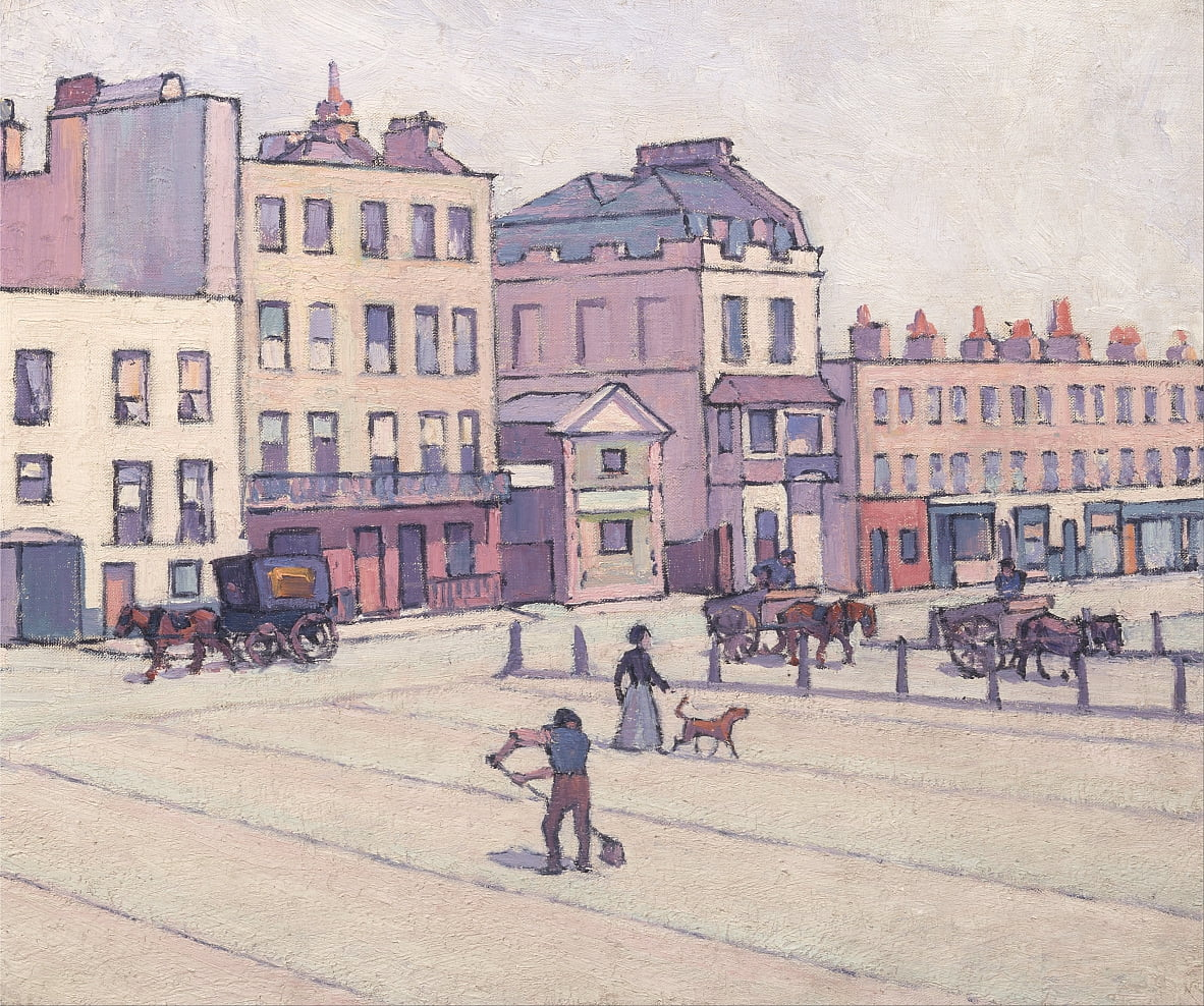 The Weigh House, Cumberland Market de Robert Polhill Bevan