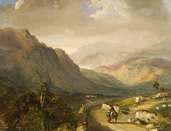 Borrowdale de Samuel Bough