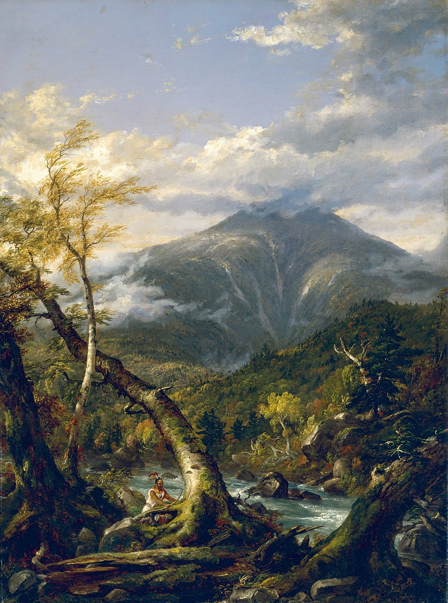 Indian Pass de Thomas Cole