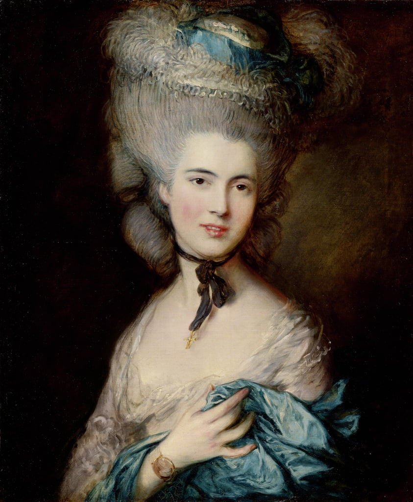 Retrato de la duquesa de Beaufort, c.1775-1780 de Thomas Gainsborough