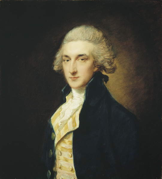Sir John Edward Swinburne, 1785 de Thomas Gainsborough