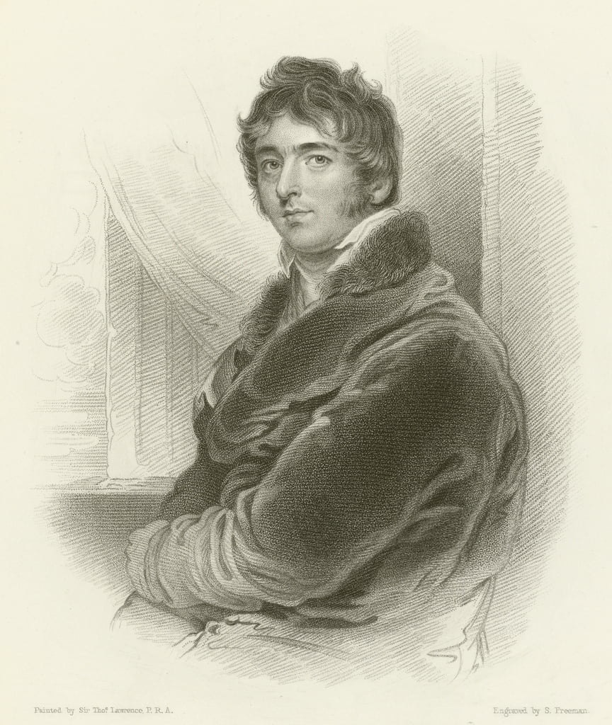 El correcto Hon William Lamb, Barón Melbourne de Thomas Lawrence