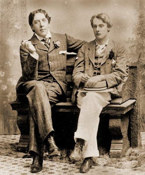 Oscar Wilde y Lord Alfred Douglas, 1894...