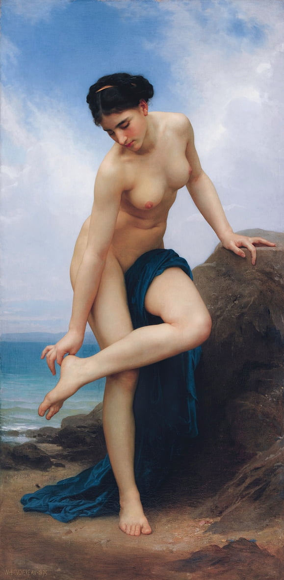 Después del baño de William Adolphe Bouguereau