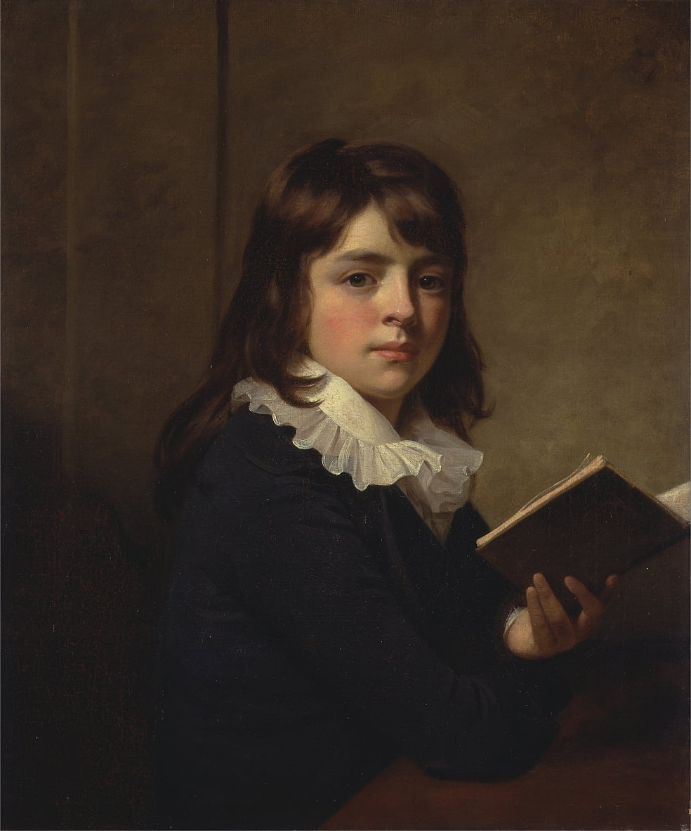 Retrato de un niño de William Beechey
