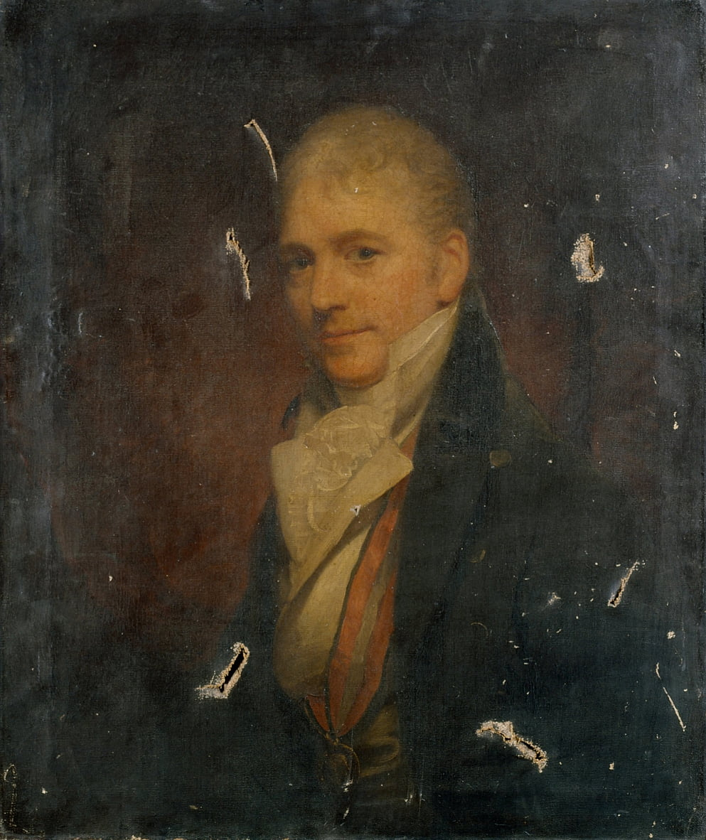 Autorretrato después de Beechey de William Beechey