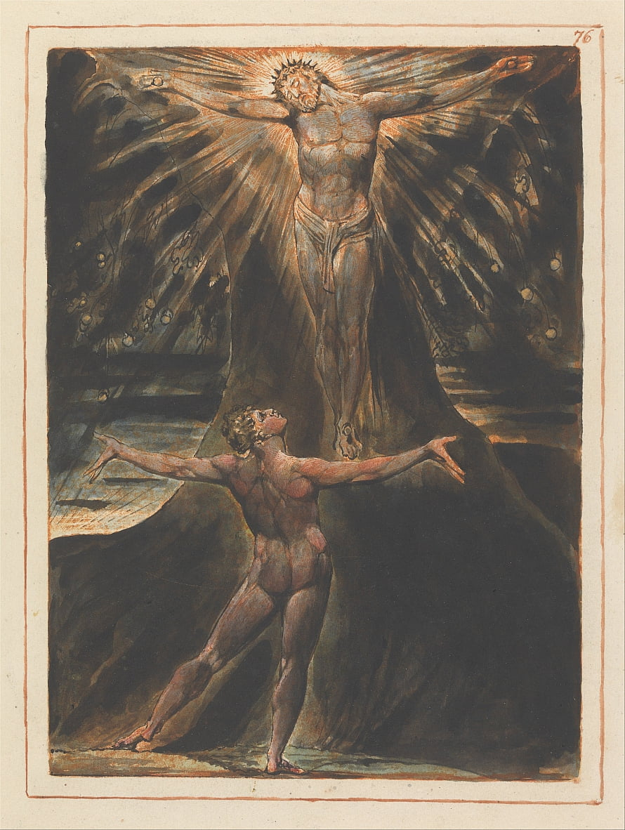 Jerusalén, lámina 76 de William Blake