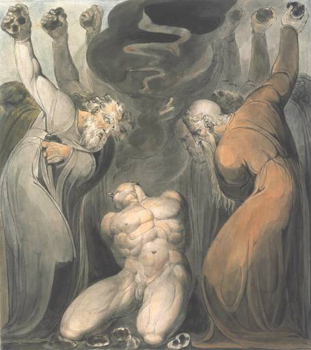 El blasfemo de William Blake