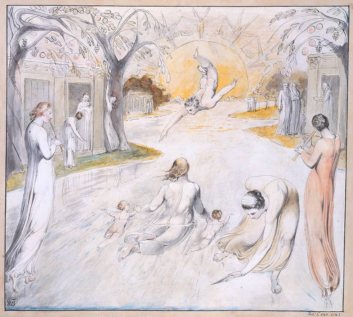 El río de la vida de William Blake