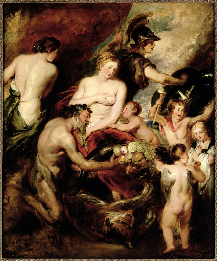 Paz y guerra de William Etty
